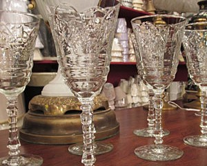 Heavy Wine Goblets