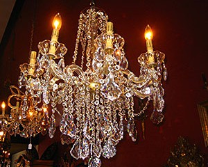 Eight-arm Maria Theresa Chandelier