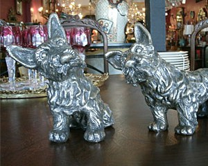 Silverplated Scotties