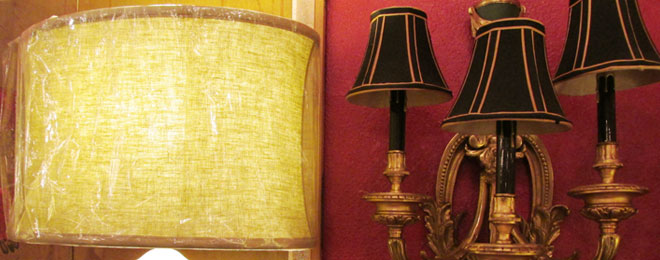 Lampshades for Antique Lamps