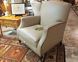 Newer Leather Club Chair
