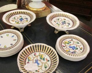 Porcelain Dessert Set