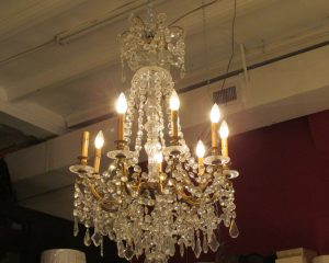 Vintage Eight-Arm Chandelier