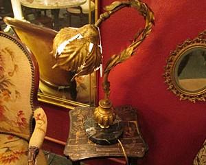 Italian Bridge Table Lamp