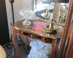 Pair Inlaid End Tables or Night Stands