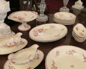 Set of Paris Transfer-Ware Serving Dishes