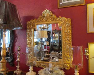 Gold Gilt Square Mirror